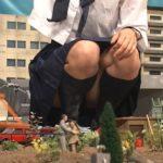 【サイズフェチ】巨大化したローファー女子高生JKが自衛隊と対決!
